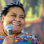 Rigoberta Menchu at the Social Forum of Rototom Sunsplash 2013
