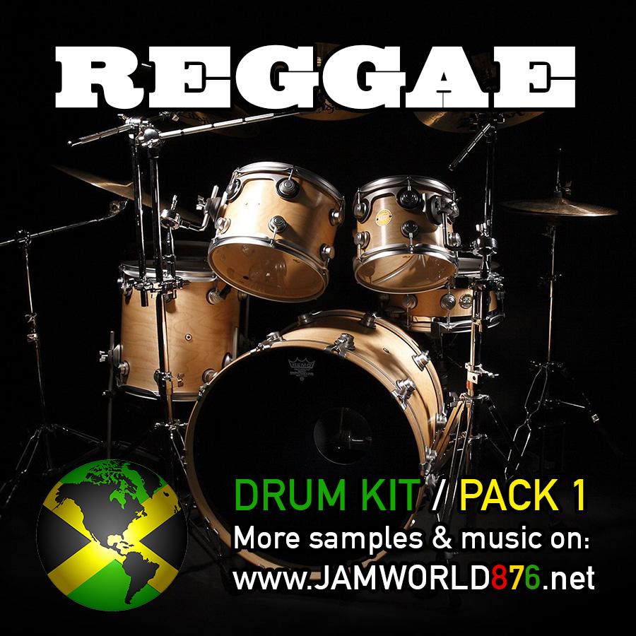 Reggae Drum Kit Pack 1 - Jamworld876