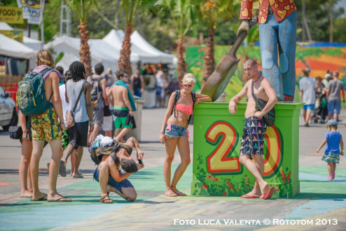 Day 1- Rototom Live- Saturday 17th for Sunday 18th