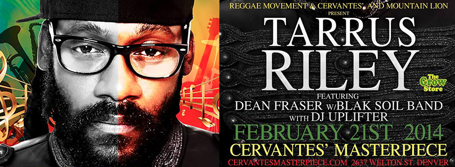 tarrus riley live in denver