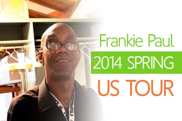 frankie paul us tour date