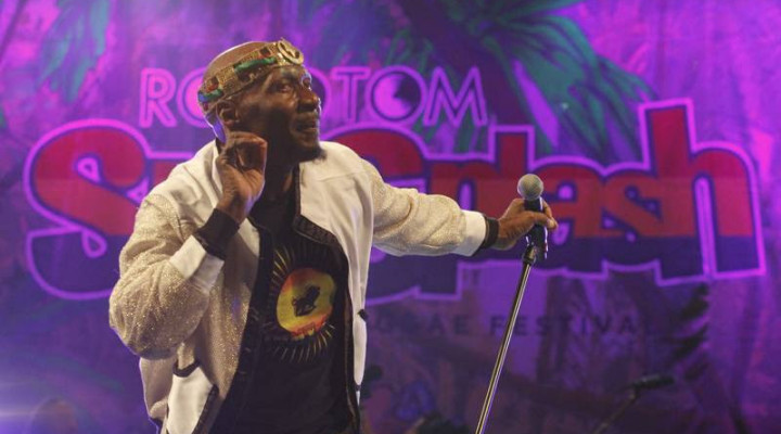 Jimmy Cliff and the Jolly Boys for Rototom Sunsplash 2014