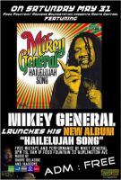 "Mikey General announces Jamaican ""Hailelujah Song"" album launch"