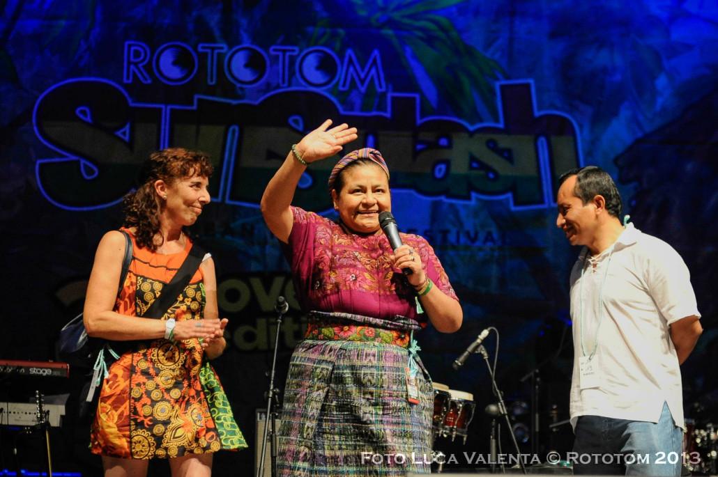 """Rototom Festival Day 2: Rigoberta Menchú, the """"ally"""" of the festival's audience"""