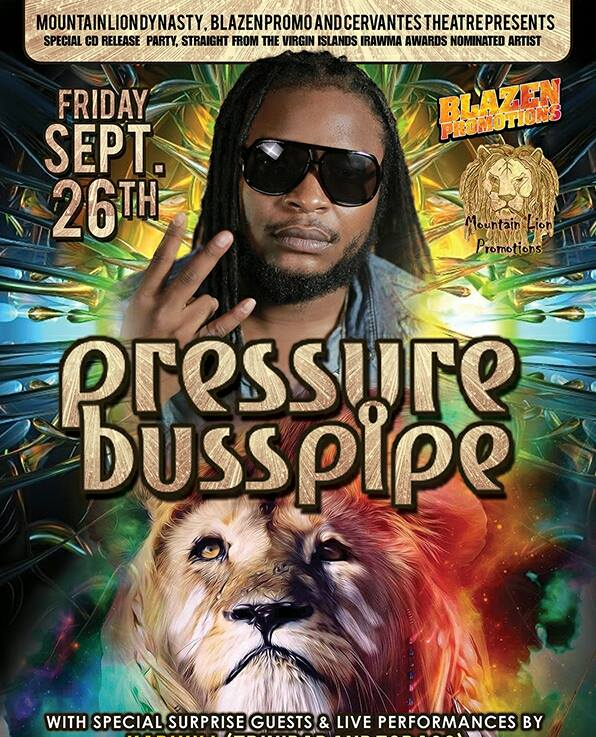 Denver News Mountain Lion: PRESSURE BUSSPIPE AFRICA REDEMPTION CD RELEASE PARTY