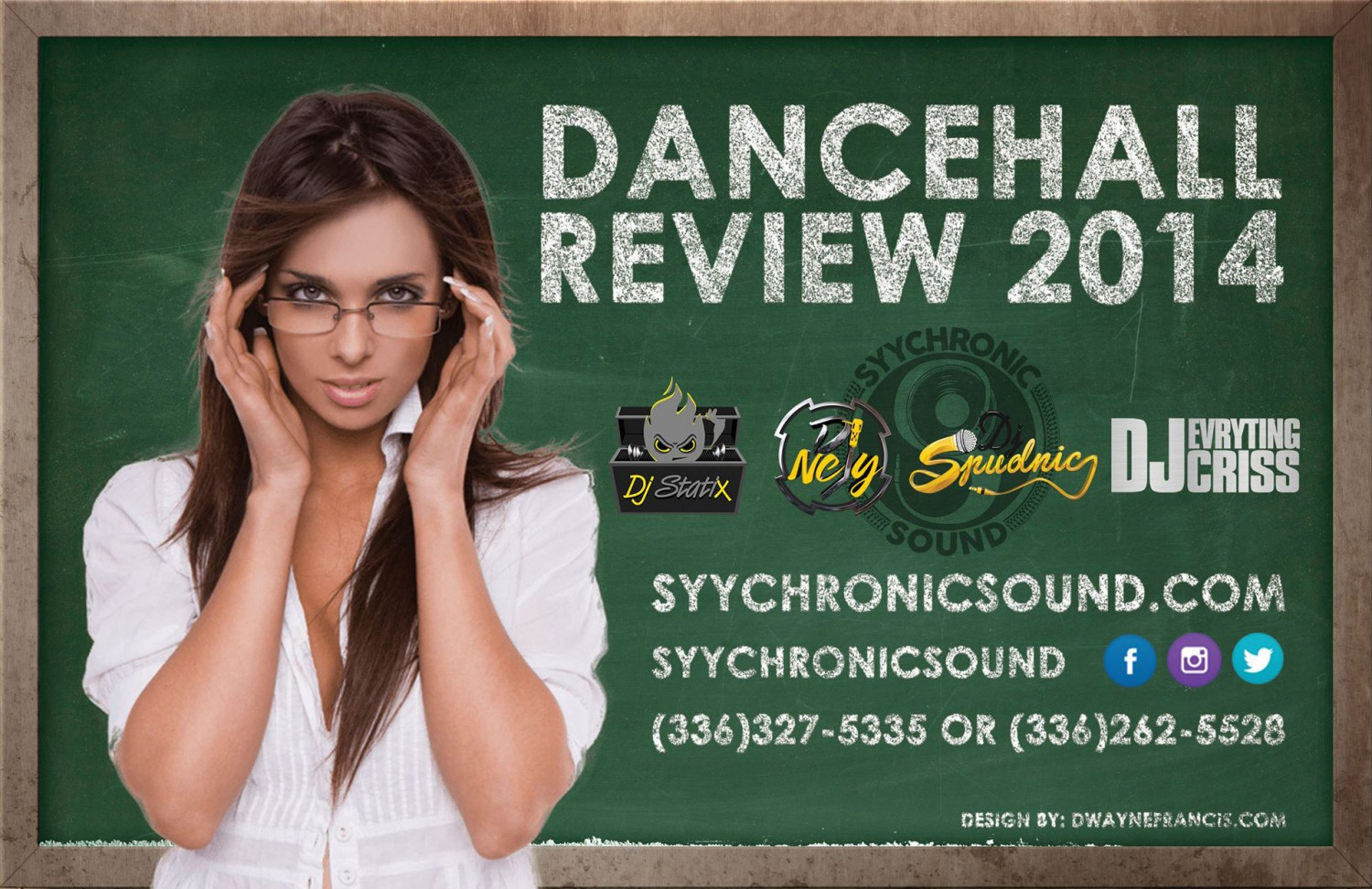 synchronic sound - dancehall review 2014