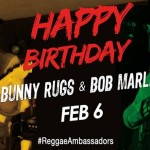 Bob Marley & Bunny Rugs earth strong #ReggaeMonth #FBF