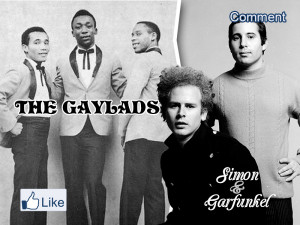The Gaylads vs Simon & Garfunkel - The Sound of silence