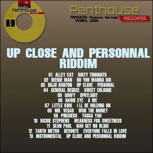 Up Close and Personal Riddim [1998] (Penthouse) - Jamworld876