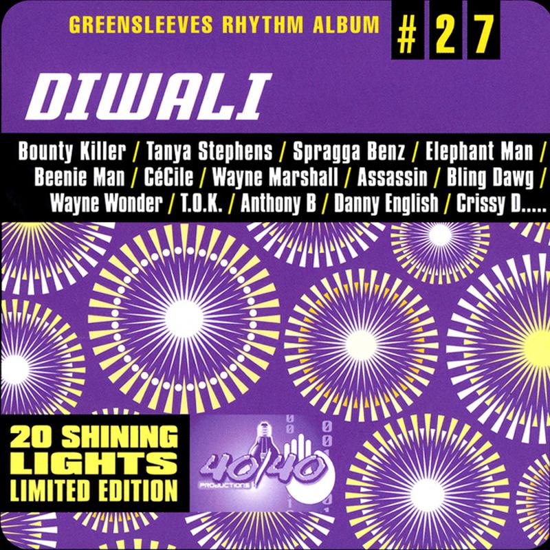 Greensleeves Rhythm Album #27 - Diwali - Jamworld876
