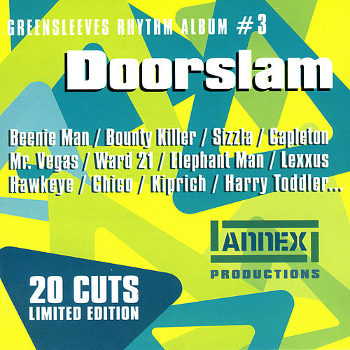 Greensleeves Rhythm Album #3 - Doorslam - Jamworld876