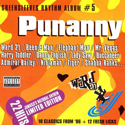 Greensleeves Rhythm Album #5 - Punanny - Jamworld876