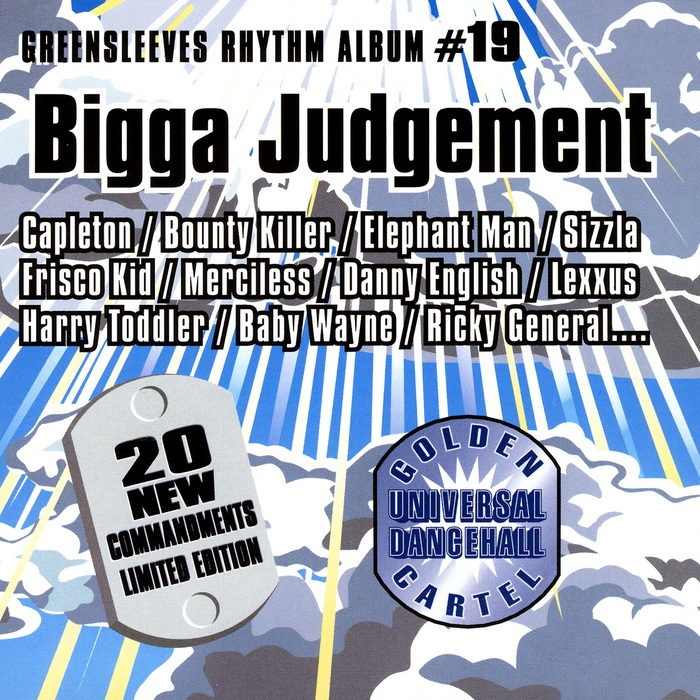 Greensleeves Rhythm Album #19 - Bigga Judgement - Jamworld876