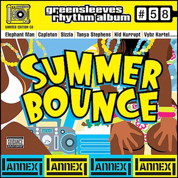 Greensleeves Rhythm Album #58 – Summer Bounce - Jamworld876