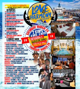 Love and Harmony Caribbean Cruise 2018 - back
