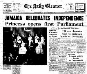 jamaica celebrates independence day