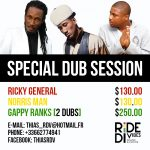 Special Dub Session: Gappy Ranks, Norris Man, Ricky General