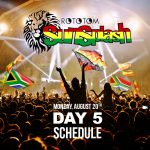Rototom Sunsplash 2018 Day 5 – Schedule
