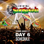 Rototom Sunsplash 2018 Day 6 – Schedule