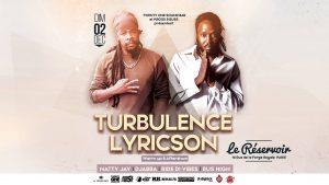 Turbulence & Lyricson @ Le Reservoir, France [12.02.2018]