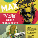 Apr. 19, 2019 - Max Roméo & The Charmax Band (France)