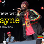Interview with I Wayne at Reggae Geel 2019