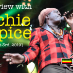 Interview with Richie Spice at Reggae Geel 2019
