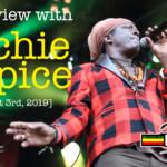 Interview with Richie Spice at Reggae Geel 2019