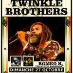 Oct. 27th, 2019 - Twinkle Brothers @ La Bellevilloise, Paris (France)